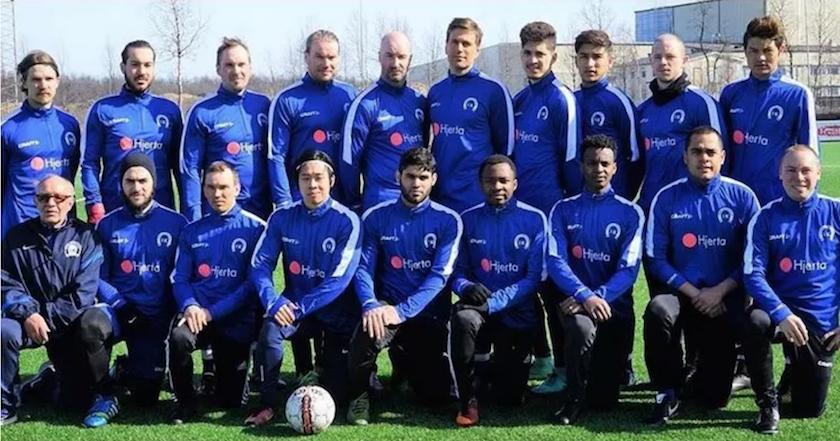 Hjerta i Kiruna sponsrar Sveriges nordligaste fotbollslag - Sak   Liv 406ccc141c0a0